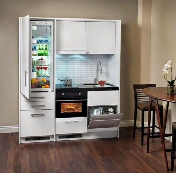 Amazing Small Apartment Kitchen Ideas32