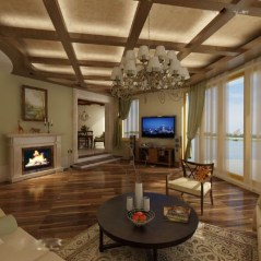 Amazing Wooden Ceiling Design 35