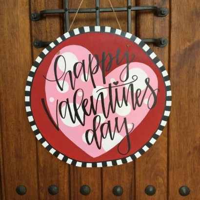 Awesome Front Door Ideas For Valentine07