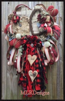 Awesome Front Door Ideas For Valentine15