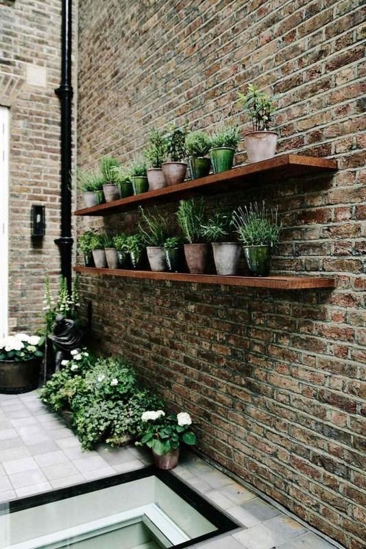 Awesome Rustic Balcony Garden11