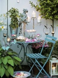 Awesome Rustic Balcony Garden26