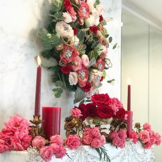 Beautiful Flower Decoration Ideas For Valentine32