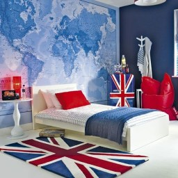 Elegant Blue Themed Bedroom Ideas04