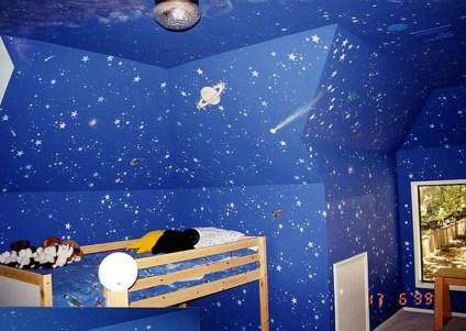 Elegant Blue Themed Bedroom Ideas10