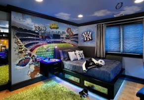 Elegant Blue Themed Bedroom Ideas13