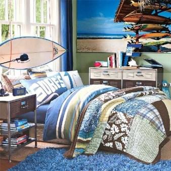 Elegant Blue Themed Bedroom Ideas26
