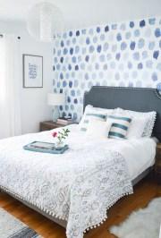 Elegant Blue Themed Bedroom Ideas29