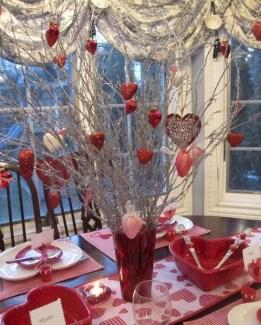 Inspiring Valentine Centerpieces Table Decorations05