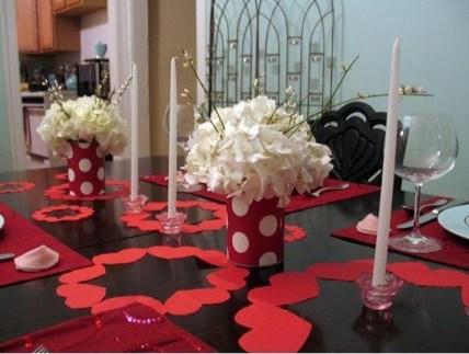 Inspiring Valentine Centerpieces Table Decorations08