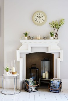 Lovely Fireplace Living Rooms Decorations Ideas28