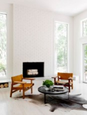 Lovely Fireplace Living Rooms Decorations Ideas34