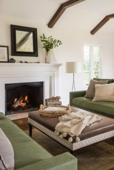 Lovely Fireplace Living Rooms Decorations Ideas41