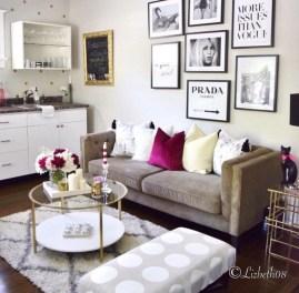 Lovely Roses Decor For Living Room05