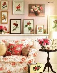 Lovely Roses Decor For Living Room14