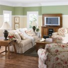 Lovely Roses Decor For Living Room35