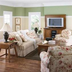 Lovely Roses Decor For Living Room35