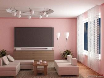 Lovely Roses Decor For Living Room36