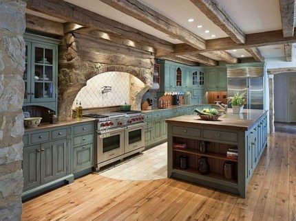 Lovely Western Style Kitchen Decorations09