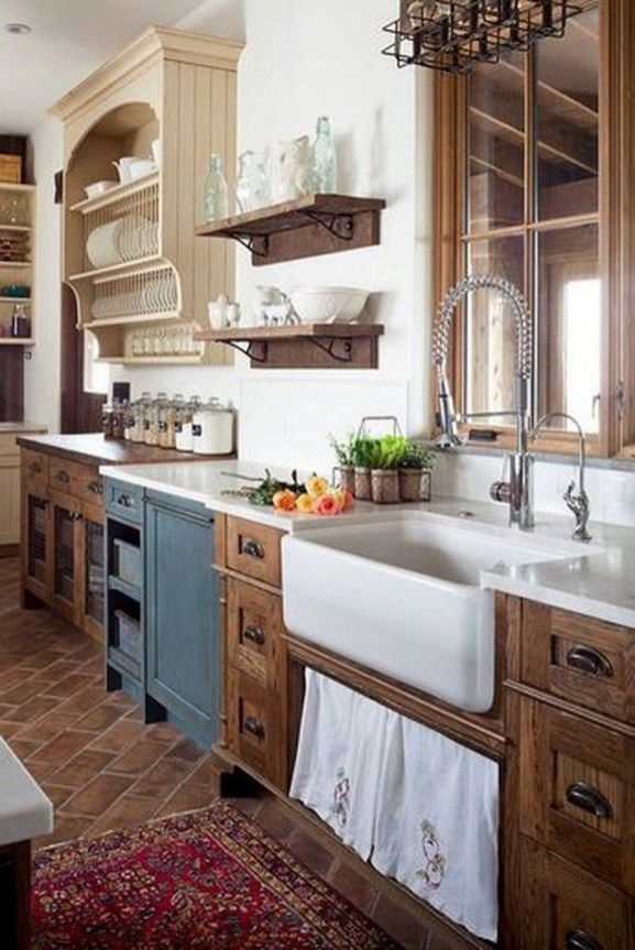 Lovely Western Style Kitchen Decorations16