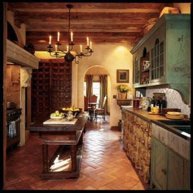Lovely Western Style Kitchen Decorations24