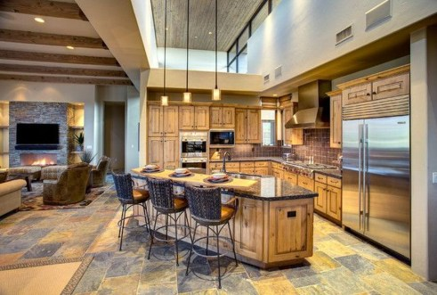Lovely Western Style Kitchen Decorations31