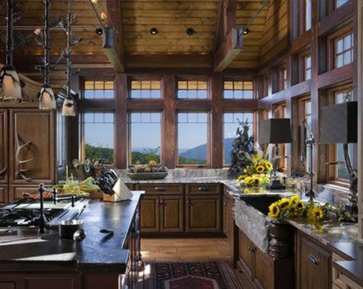 Lovely Western Style Kitchen Decorations34