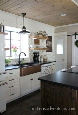 Lovely Western Style Kitchen Decorations36