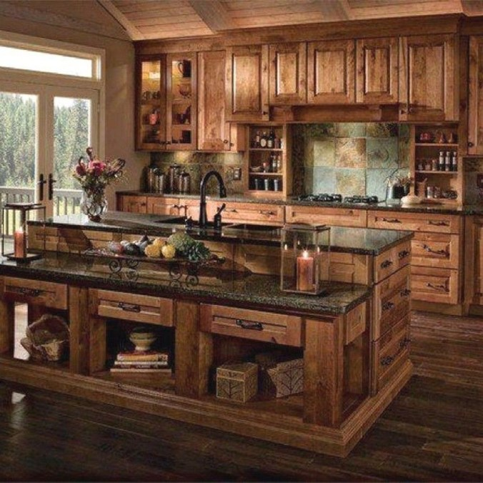 Lovely Western Style Kitchen Decorations41