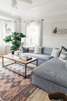 Modern Minimalist Living Room Ideas15