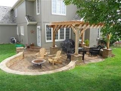 Modern Patio On Backyard Ideas19