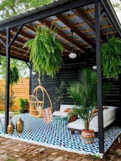 Modern Patio On Backyard Ideas25