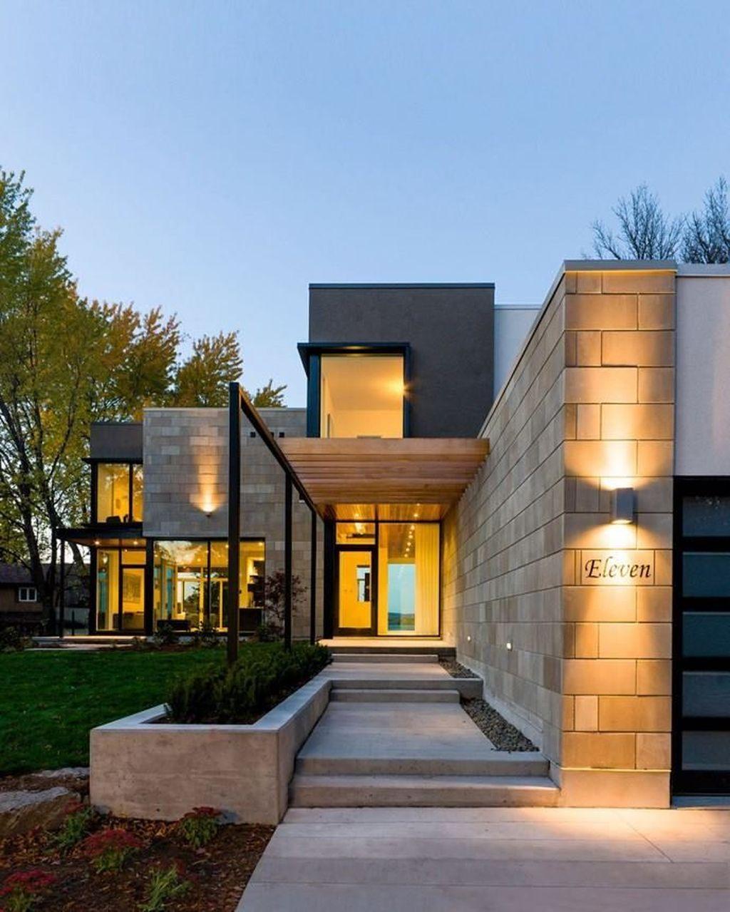 Amazing Modern Home Exterior Designs33