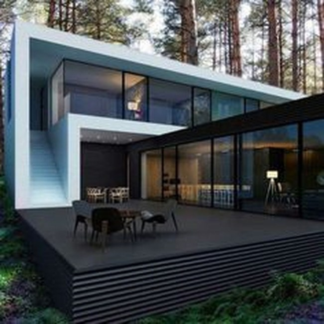 Amazing Outstanding Contemporary Houses Design44