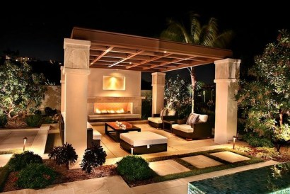 Amazing Traditional Patio Setups For Your Backyard24