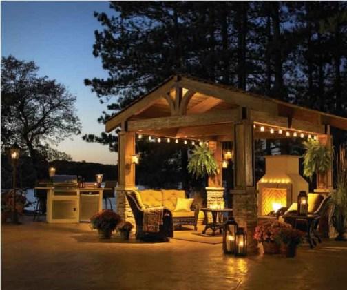 Amazing Traditional Patio Setups For Your Backyard28