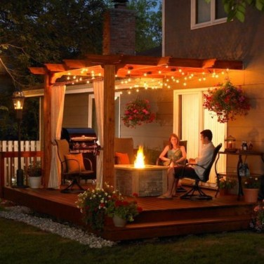 Amazing Traditional Patio Setups For Your Backyard41