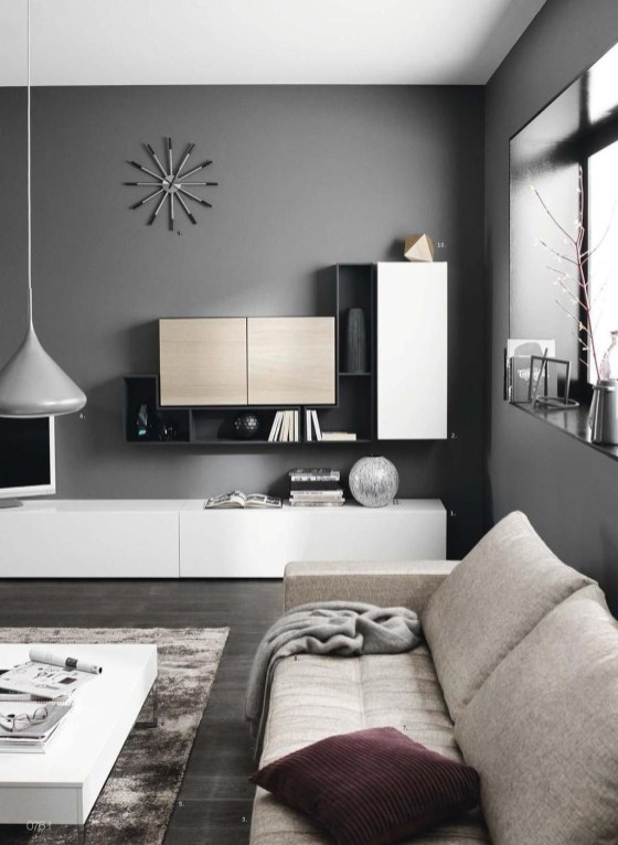 Amazing Wall Storage Items For Your Contemporary Living Room11