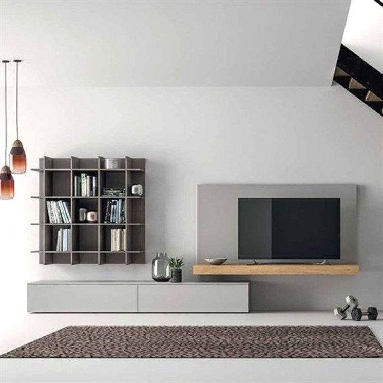 Amazing Wall Storage Items For Your Contemporary Living Room12