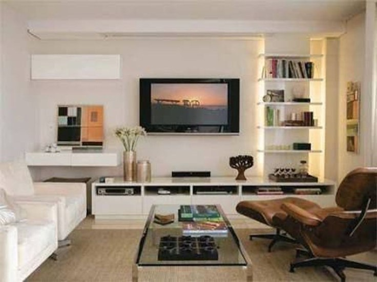 Amazing Wall Storage Items For Your Contemporary Living Room14