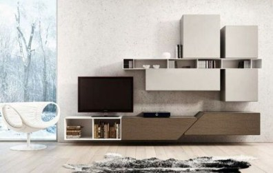 Amazing Wall Storage Items For Your Contemporary Living Room15