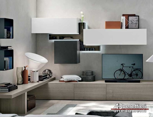 Amazing Wall Storage Items For Your Contemporary Living Room31