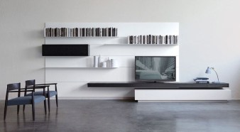 Amazing Wall Storage Items For Your Contemporary Living Room33