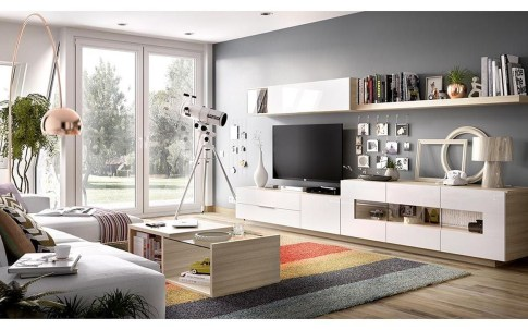 Amazing Wall Storage Items For Your Contemporary Living Room37