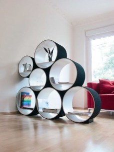 Amazing Wall Storage Items For Your Contemporary Living Room38
