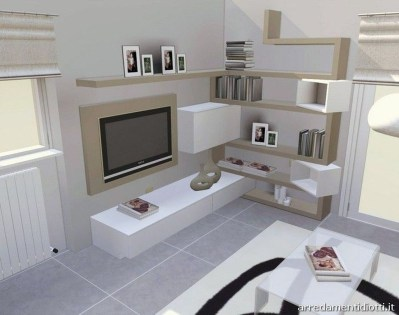 Amazing Wall Storage Items For Your Contemporary Living Room39