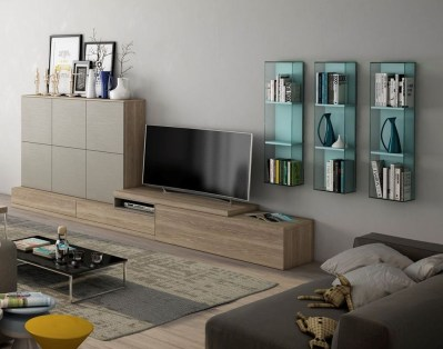 Amazing Wall Storage Items For Your Contemporary Living Room40