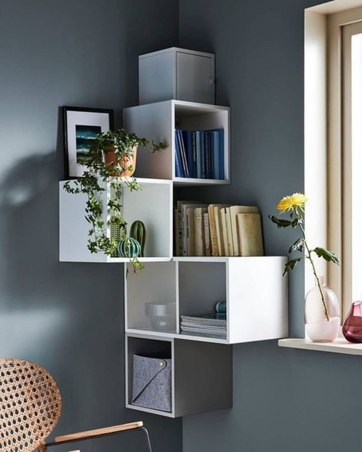 Amazing Wall Storage Items For Your Contemporary Living Room42