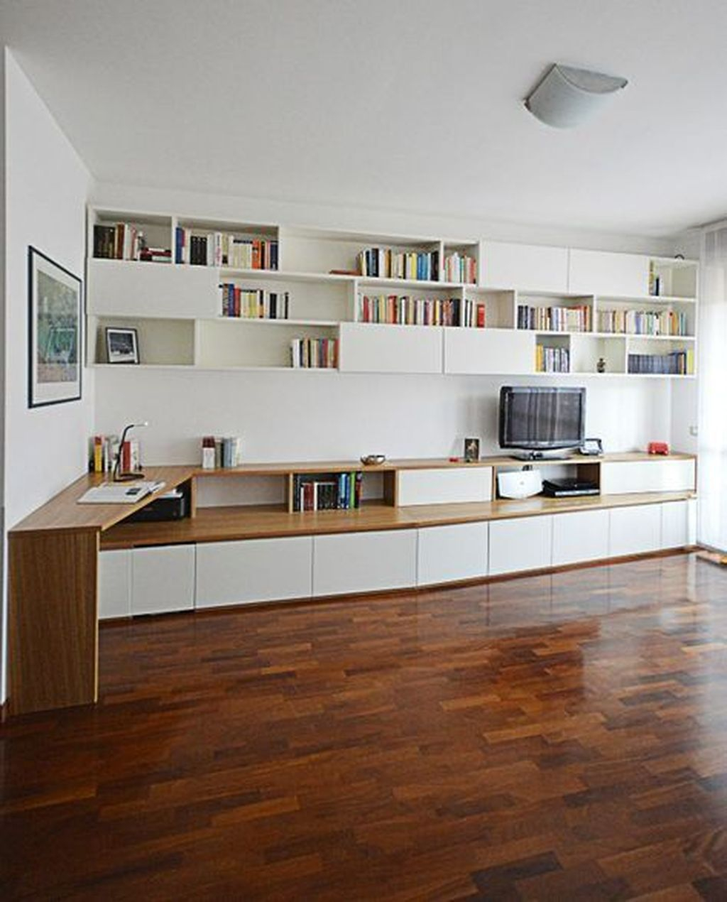 Amazing Wall Storage Items For Your Contemporary Living Room44