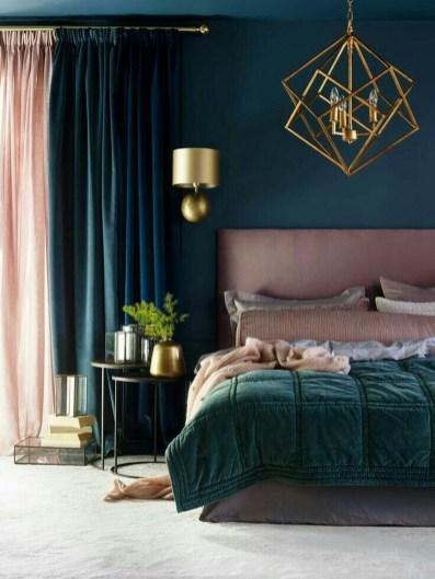 Beautiful Vintage Mid Century Bedroom Designs09